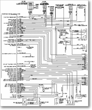 DiagramaManual CHEVROLET chevrolet monza xxxxx