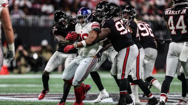 Flipboard: Falcons-Giants final score, highlights: Defense ...