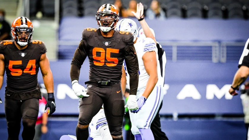 The Cleveland Browns play the Dallas Cowboys at AT&T Stadium in Week 4.