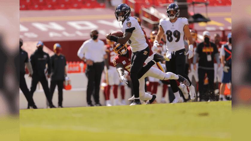 QB Lamar Jackson Week 4: Baltimore Ravens at Washington Football Team