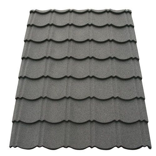 corotile lightweight metal roofing sheet charcoal 1140mm x 860mm