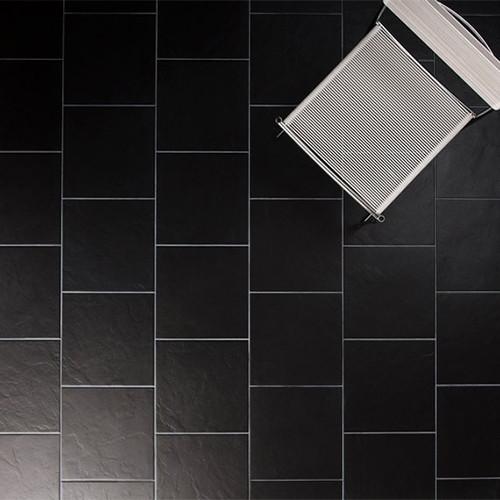 johnson tiles lagos black matte glazed porcelain wall floor tile
