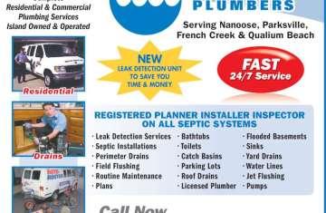 Septic Plumbing Ad   Licensed HVAC and Plumbing