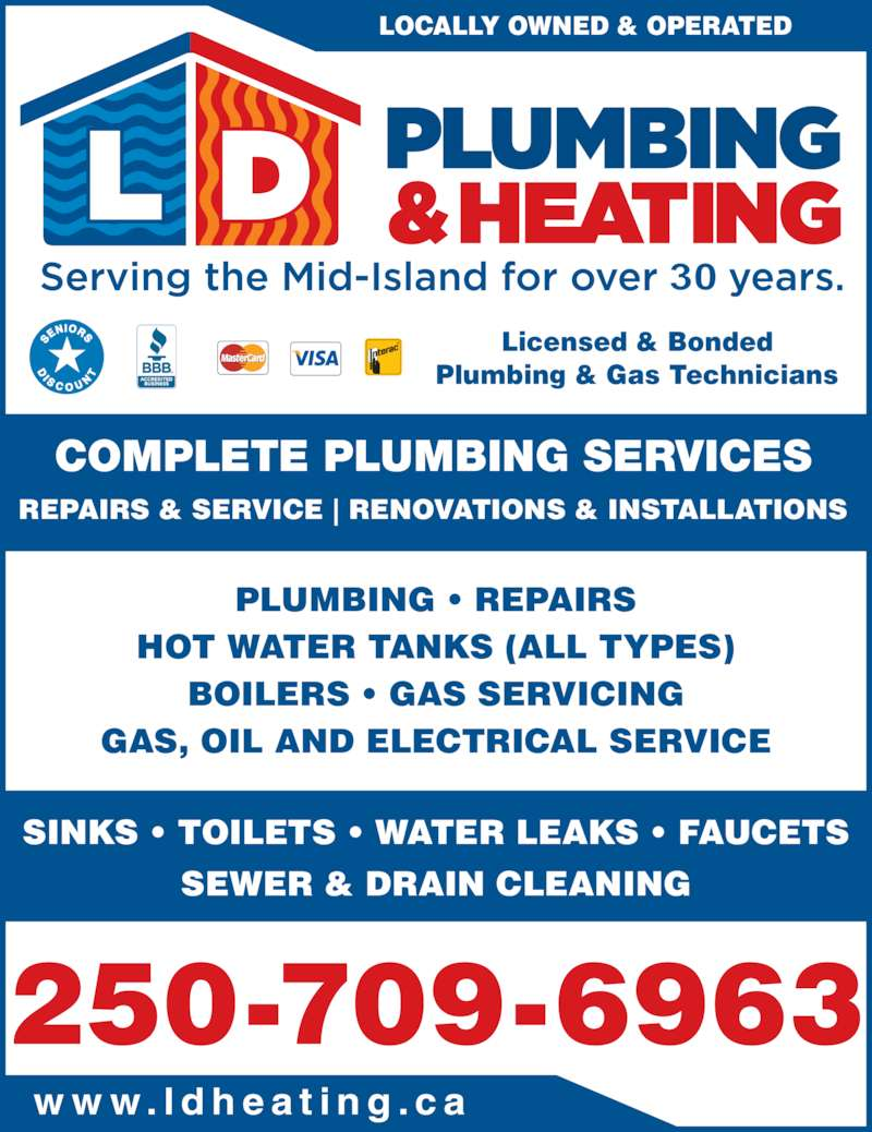 Ladysmith Duncan Plumbing Amp Heating Canpages