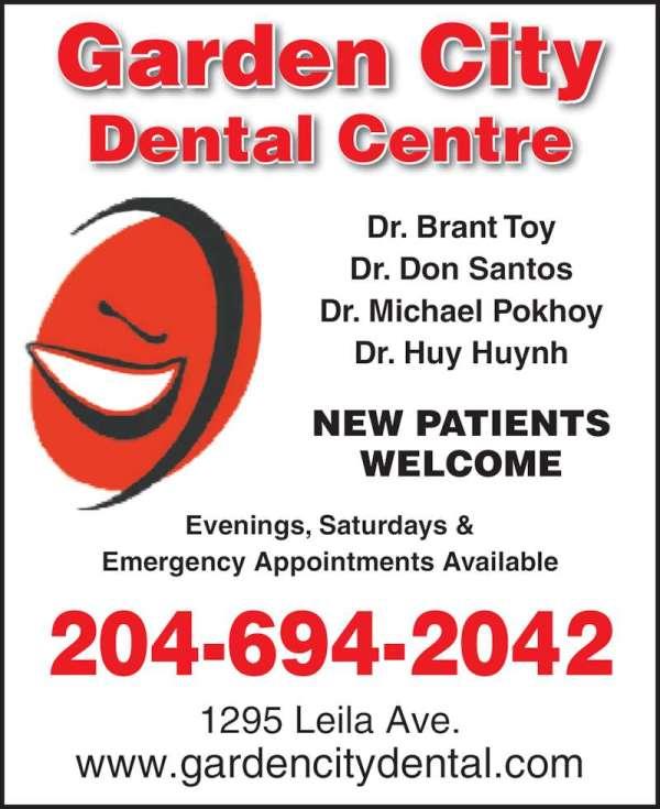 Garden City Dental Centre - Opening Hours - 1295 Leila Ave ...