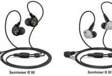 Earphones Sennheiser IE 60 and IE 80 Give Musical Voice Professional Class 6