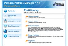 Partition Manager Personal Edition Performance Review, Manage Multiple Operating Systems 4