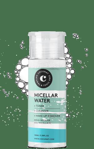 agua micelar cocunat
