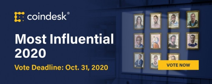 https://www.coindesk.com/2020-most-influential-vote-now