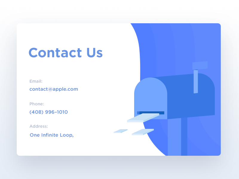 Collect UI   Daily inspiration collected from daily ui archive and     Contact