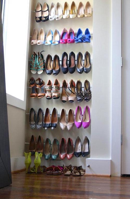pour ranger ses chaussures quand