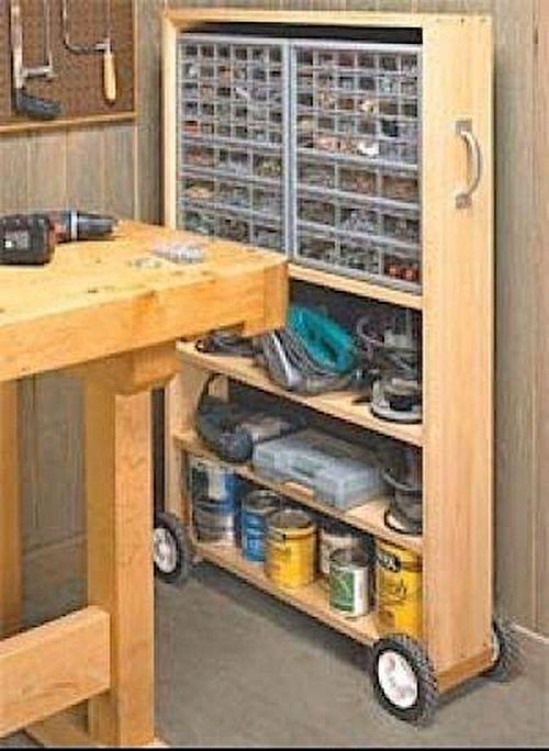 100 astuces de rangement pour un garage