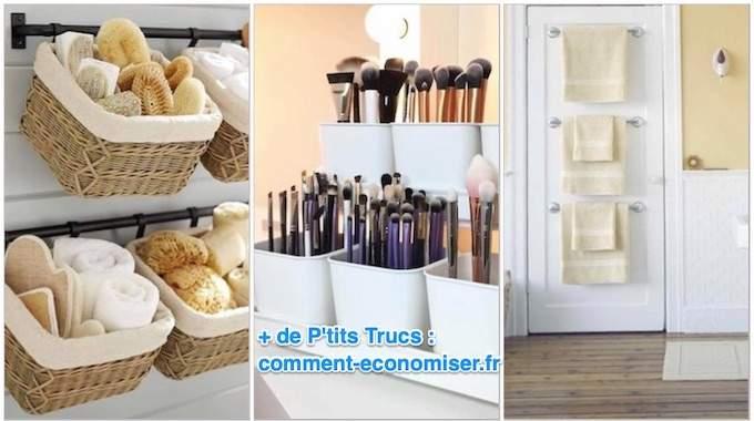 35 Idees Geniales Et Pas Cheres Pour Organiser Une Petite Salle De Bains