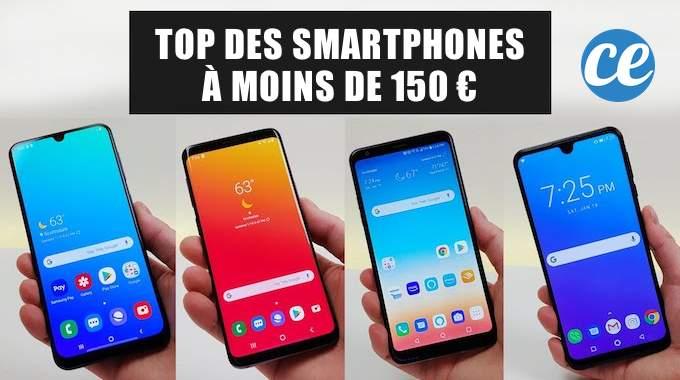 les 5 meilleurs smartphones a moins de