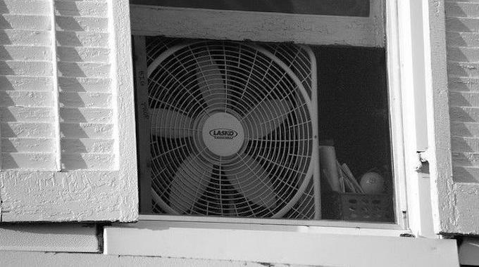 ventilateur vers