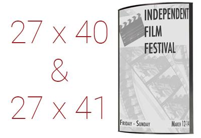 movie poster frames 27x40 27x41