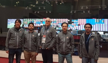 ALDEA transmite la copa mundial FIFA 2018 desde Rusia para los principales medios de comunicación del mundo