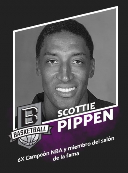 Confirmada visita de Scottie Pippen a CDMX