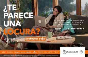 Mustela se une a la campaña: '¿Te parece una locura?... Locura es NO usar bloqueador solar todos los días'
