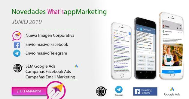 WhatsappMarketing renueva su imagen corporativa ampliando su negocio online