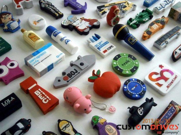 Customdrives fabrica pendrives personalizados para empresas y eventos