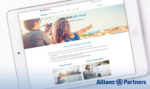 Allianz Partners presenta, bajo la marca comercial Allianz Assistance, su nueva web eCommerce