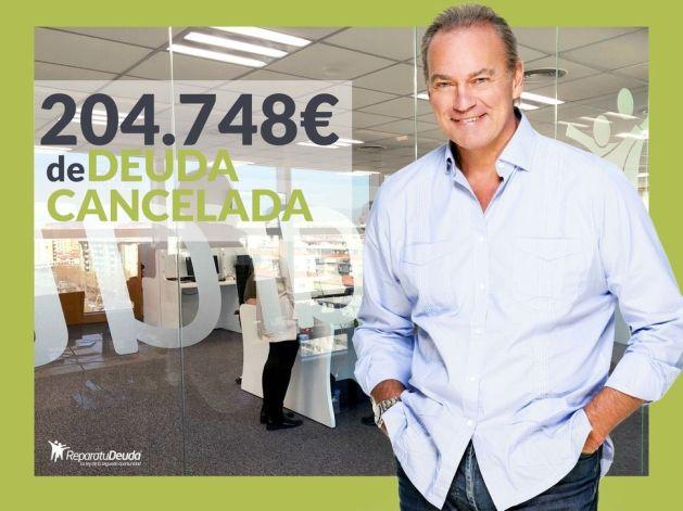 Repara tu Deuda cancela 204.748 ? en Mallorca (Islas Baleares) gracias a la Ley de la Segunda Oportunidad