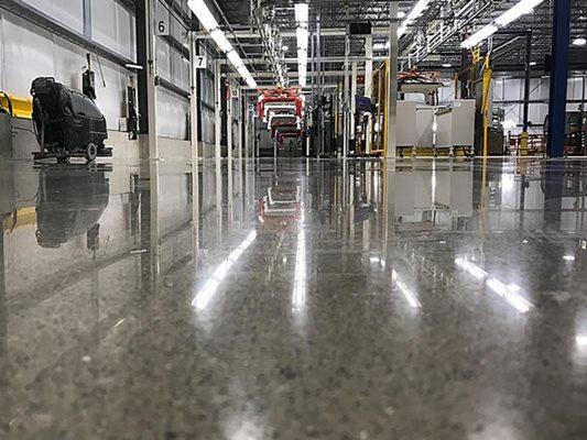 Polished Concrete Amp Floor Coatings Toledo Area The Concrete Network