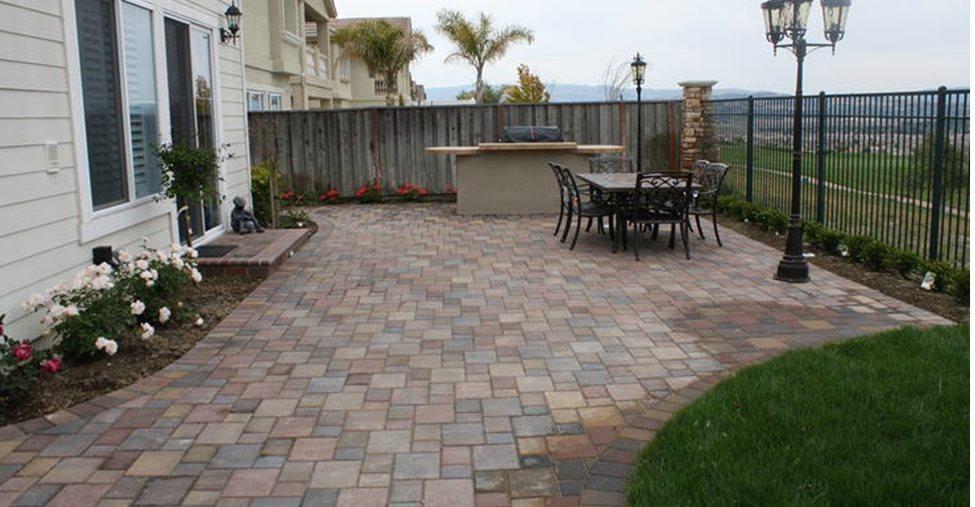 Concrete Pavers and Paver Infromation - The Concrete Network on Square Concrete Patio Ideas  id=85134