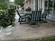 https www concretenetwork com concrete patio small backyard patio html