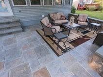 stamped concrete patio ideas designs