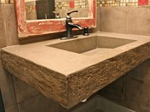 concrete sinks for bathrooms kitchens