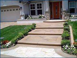 Concrete Steps Outdoor Stair Design Height The Concrete Network | Floating Concrete Steps Designs | Exterior | Landscape | House | Sidewalk | Cement