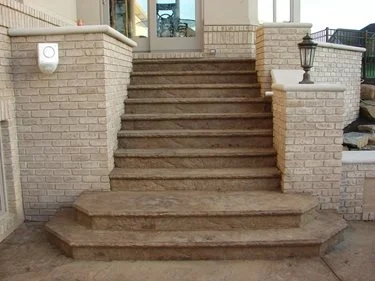 Concrete Steps Outdoor Stair Design Height The Concrete Network | Home Entrance Steps Design | Exterior | Sophisticated | Angled | Bungalow Entrance | Concrete