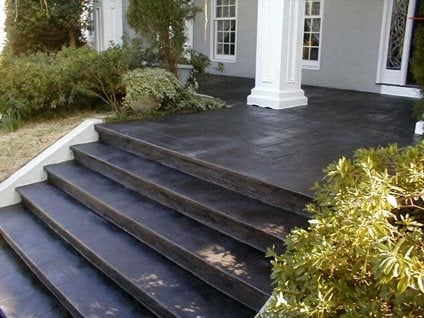 Concrete Porch Ideas 6 Front Steps Makeovers The Concrete Network   Exterior Front Stairs Designs   Curved   Simple   Front Look   Villa   1950 Bungalow
