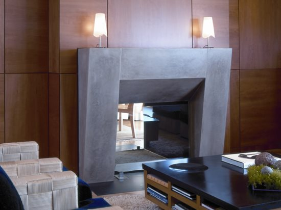 Concrete Fireplace Surrounds Tips For Designing And Preparing To Build A Concrete Fireplace