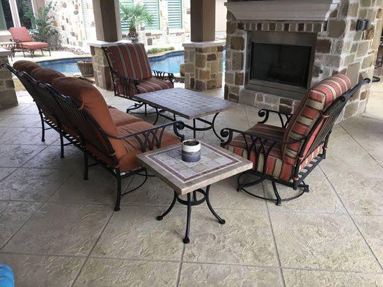 resurface your concrete patio