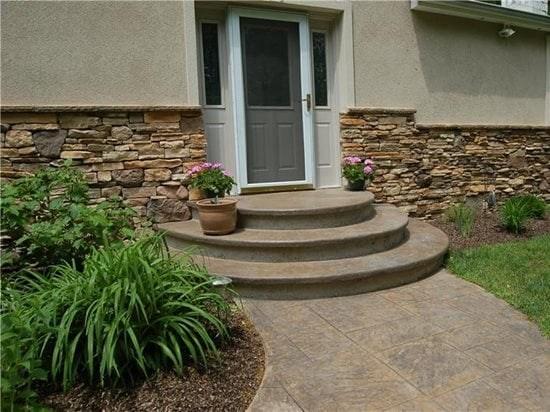 Concrete Steps Outdoor Stair Design Height The Concrete Network | Concrete Stairs Design Outdoor | Beautiful | Roof Deck | Storage Underneath | Exterior | Modern