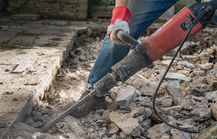 chipping hammer other concrete
