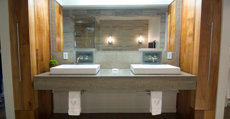 Concrete Designs For Bathroom