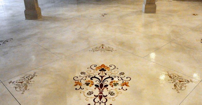 concrete floors for retail stores