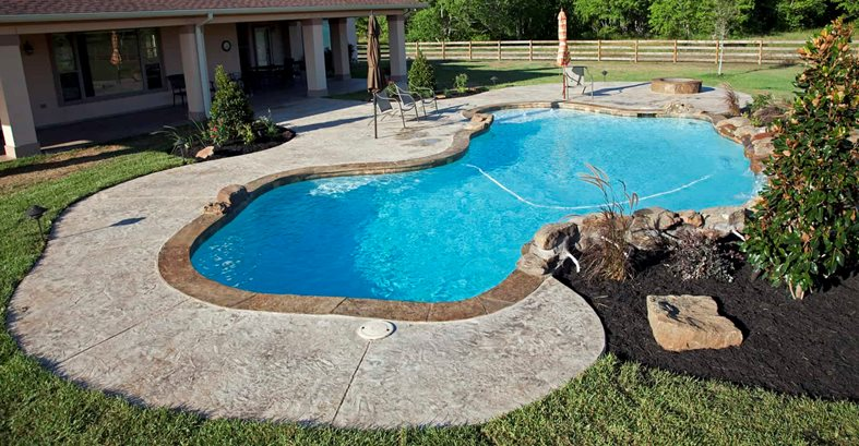 stamped concrete in houston tx the