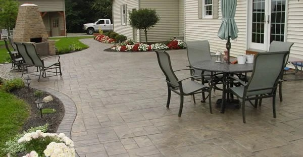 Patio Designs - Tips for Placement and Layout Plans for ... on Simple Concrete Patio Designs id=32079