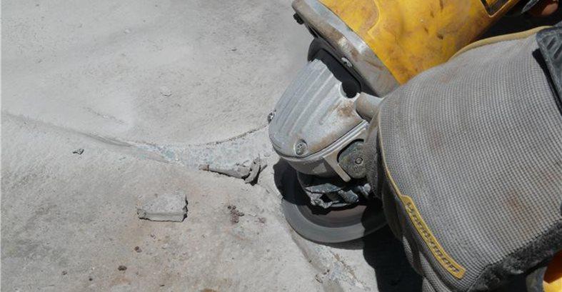 Concrete Lines Grinder 4 Floor