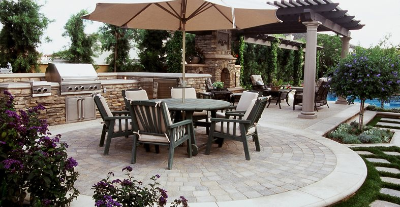 Patio Designs - (Placement and Layout Plans) - The ... on Garden Patio Designs And Layouts id=81840
