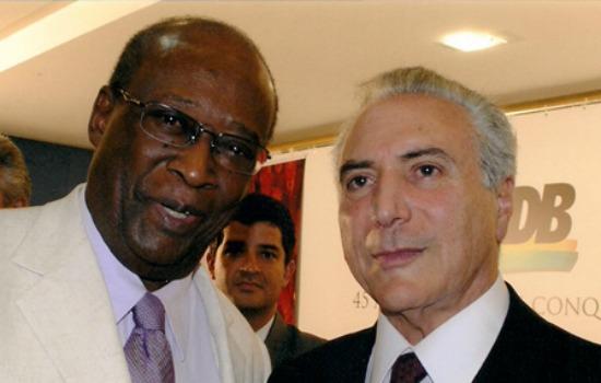 PMDB Afro ignora indicação de paraibano e quer ator no Ministério da Cultura