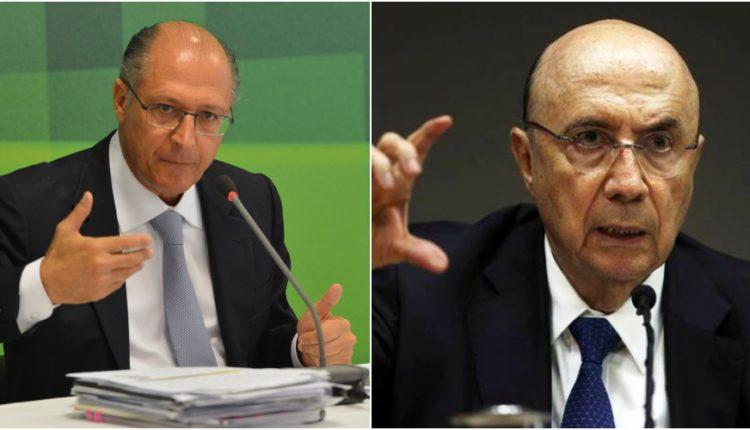 Alckmin e Meirelles