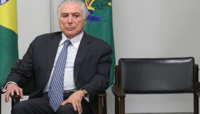Relatório da Polícia Federal vê indícios de que o presidente Michel Temer recebeu repasses da Odebrecht