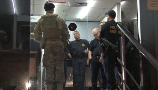 PF. Policiais chegam à Alerj para cumprir ordens judiciais de diligências