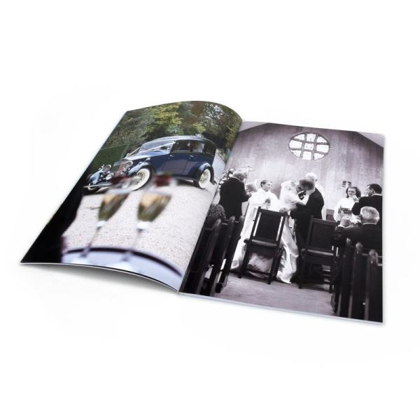 A4 Photo Book Soft Cover Magazine Style Photo Book
